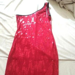 Dresses & Skirts - Party red sequin dress